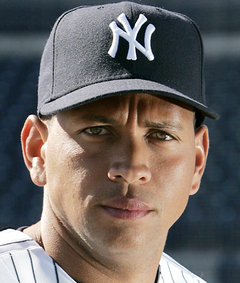A-Rod, seen here struggling with peer pressure